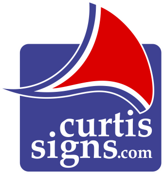 Curtis Signs Sail Logo